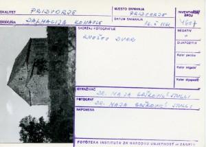 Folklorna građa iz Konavala 2, 1961.: Knežev dvor.