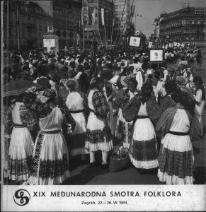Usmena pjesma u izvedbi : program XIX Međunarodne smotre folklora
