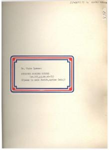 Istarske narodne pjesme; Jurići , sv. III., 1957; sv. I. - note, II. - tekst