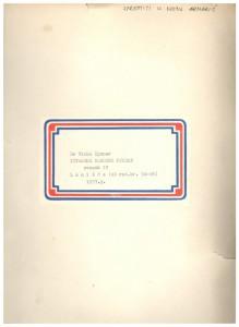 Istarske narodne pjesme; Lanišće, sv. IV., 1957.