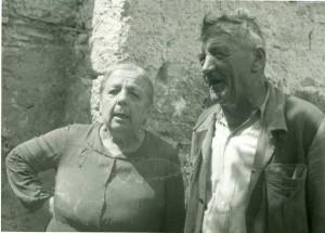 Narodni pjevači Domenica Rotta i Bonassin Giovanni