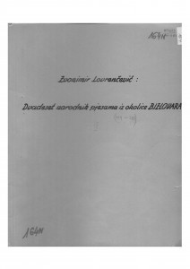 Narodne pjesme iz okolice Bjelovara, sv. IX., 1953.