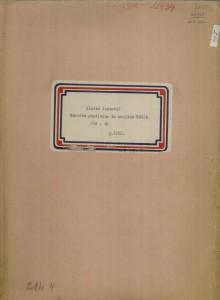 Narodne popijevke iz okolice Senja, (ONŽO NZ 37), 1952.