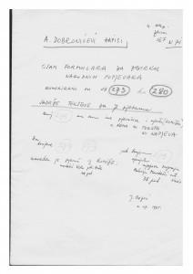 1. Narodne popijevke sa otoka Hvara, 1938, 1946.   2. Narodne popijevke iz Hrvatskog zagorja (Gornja Pušća i Hruševec Pušćenski), 1948.