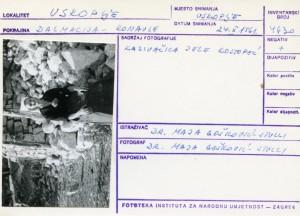 Folklorna građa iz Konavala 2, 1961.: Kazivačica Jele Kostopéc.
