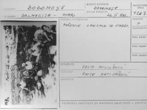 Folklorna građa (običaji) otoka Hvara, 1966. Pirne maškare. Pečenje janjaca za svadbu.