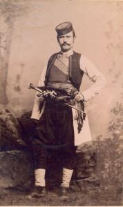 Fotografije nošnji. Crnogorac.