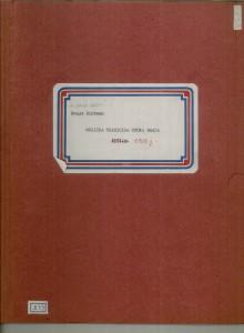 Muzička tradicija otoka Brača, 1969.: 2. Tekstovi, sv. III.