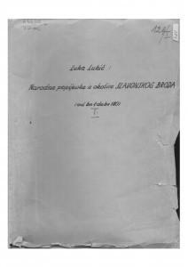 Narodne popijevke iz okolice Slavonskog Broda, 1. dio: sv. I. - IVa., 1915- 1950.