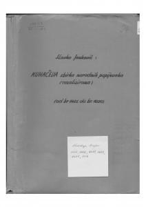 Narodne popijevke  1401 - 1600.