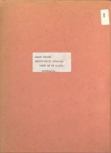 Pripovijesti istarske, (ONŽO MH 59 c). Fotokopija originalnog rukopisa.