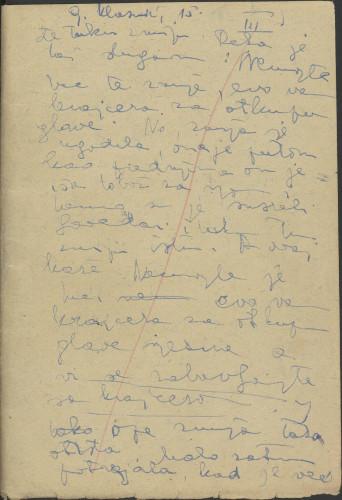 Folklorna građa Banije 3, 1956. Terenska bilježnica br. 3.