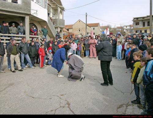 Maškare iz mjesta Ruda, 7. veljače 2005.