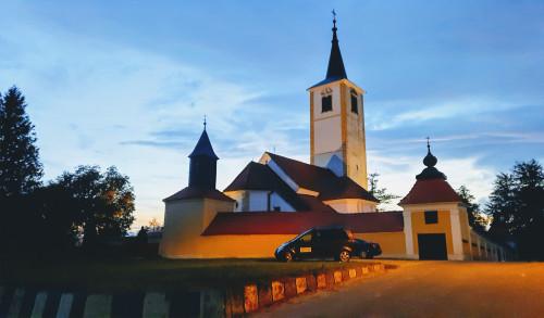 Barokna župna crkva Majke Božje Snježne, Belec