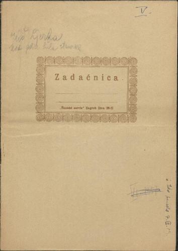 Folklorna građa okolice Đakova, 1957. Terenska bilježnica br. 5.