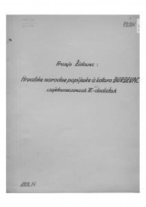 Hrvatske narodne popijevke iz kotara Đurđevac (svjetovne), sv. III, 1951.