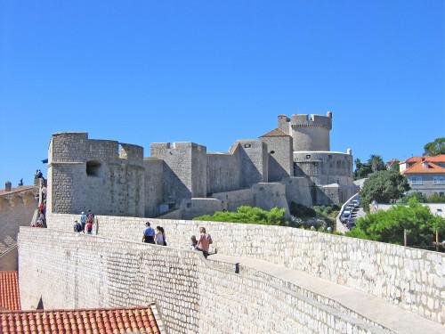 15th International Ethnological Food Research Conference: Mediteranean Food and It's Influence Abroad, Dubrovnik, 27. rujan - 3. listopad 2004.: Pogled na gradske zidine