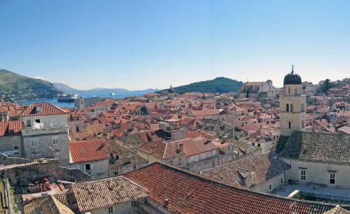 15th International Ethnological Food Research Conference: Mediteranean Food and It's Influence Abroad, Dubrovnik, 27. rujan - 3. listopad 2004.: Pogled na staru gradsku jezgru