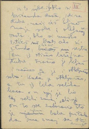 Folklorna građa okolice Đakova, 1957. Terenska bilježnica br. 3.
