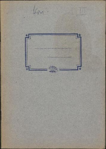 Folklorna građa iz Konavala 2, 1961. Terenska bilježnica br. 3.