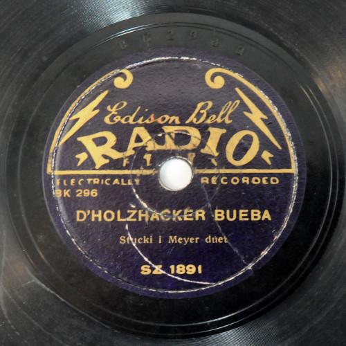 D'Holzhacker bueba