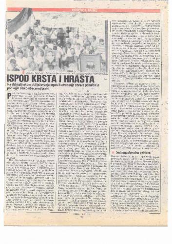 Proslava Kosovske bitke - Ispod Krsta i Hrasta