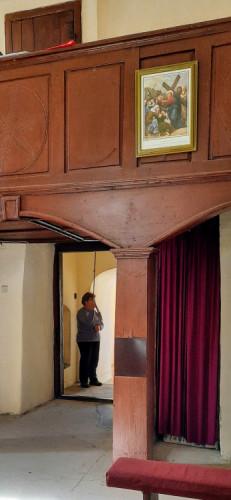 Kazivačica Marija Košić zvoni u podne, kapela sv. Margiete, Peršaves