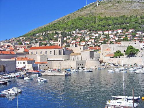15th International Ethnological Food Research Conference: Mediteranean Food and It's Influence Abroad, Dubrovnik, 27. rujan - 3. listopad 2004.: Pogled na staru gradsku luku