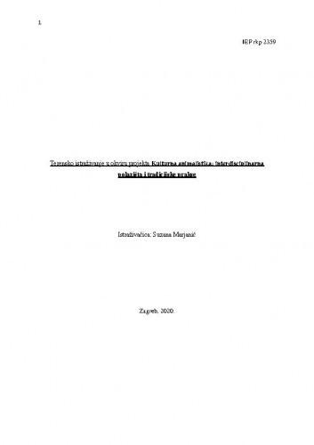 Terensko istraživanje u okviru projekta Kulturna animalistika: interdisciplinarna polazišta i tradicijske prakse