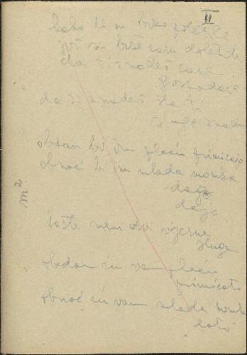Folklorna građa okolice Drniša, 1958. Terenska bilježnica br. 2.