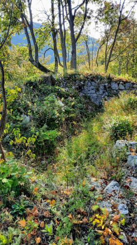 Ostaci srednjovjekovne utvrde, Ivančica-Židovina