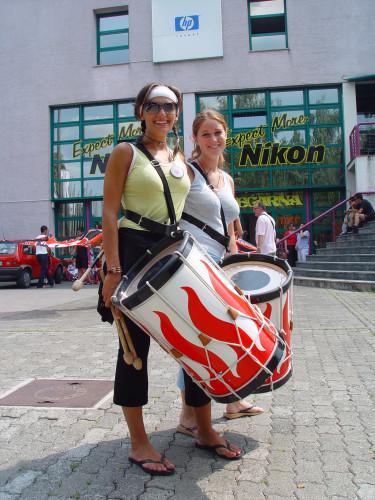 37. Međunarodna smotra folklora. Zagreb, 16.-20. srpnja 2003. Italija, Citta di Piansano, Sbandieratori e musici