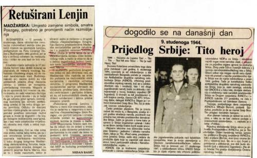 Retuširani Lenjin - Tito heroj