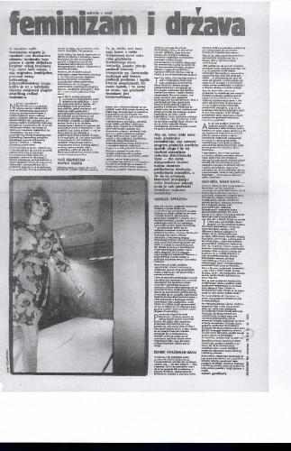 Feminizam i država 1983. (hemeroteka)