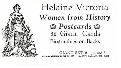 Postcards on Women's History and Culture