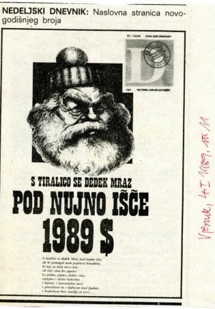 Nova godina 1989. - Nedeljski dnevnik