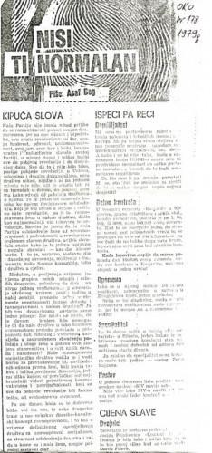 Međunarodni simpozij Drug-ca žena - žensko pitanje - novi pristup, 1978. (hemeroteka)