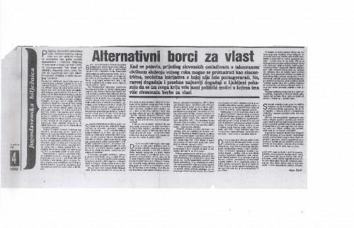 Alternativni borci za vlast (članak)