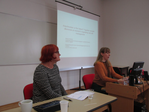 Feminisms in a Transnational Perspective 2016: Reclaiming the Future. Feminist Engagements for the 21st Century. Rada Borić i Sandra Prlenda