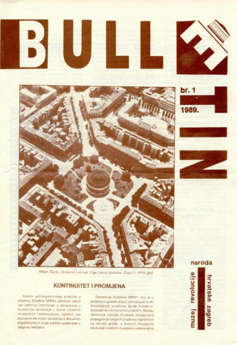 Bulletin Muzeja revolucije naroda Hrvatske Zagreb