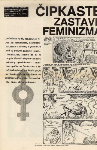 Prikaz knjiga Slavenke Drakulić i Igora Mandića (hemeroteka)