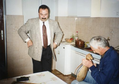 Miho Konjuh (lijeričar) i  Ante Rusko Franković (kolovođa)