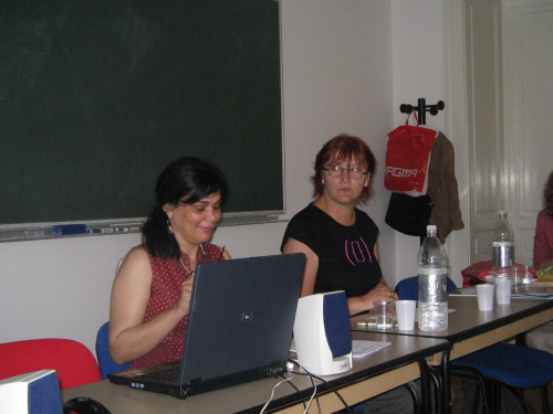 Feminisms in a Transnational Perspective 2008: Voicing Feminist Concerns. Azza Kamel i Rada Borić