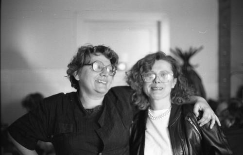Nives Ritig-Beljak i Lydia Sklevicky, 1989.