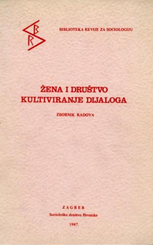 Žena i društvo . kultiviranje dijaloga