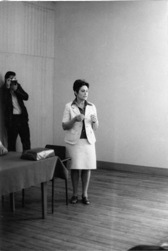 Proslava 80 godina života dr. Gavazzija u Etnografskom muzeju: Dunja Rihtman Auguštin.