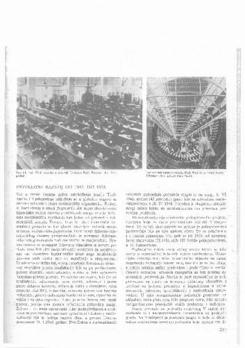 Trešnjevka u periodu obnove i socijalističke izgradnje(dio o ekonomskom razvoju općine od 1945-1980g.