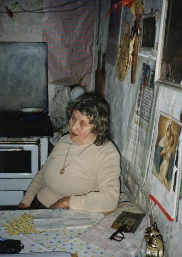 Kazivačica Mara Karač.