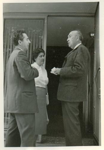 Maja Bošković-Stulli, S. Thompson i Matičetov.