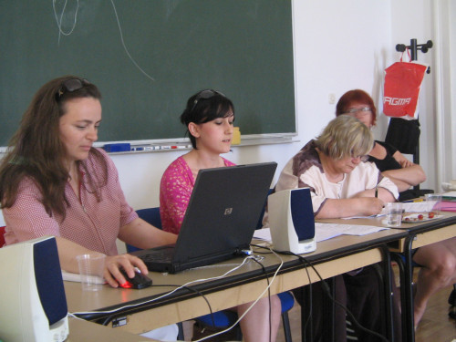 Feminisms in a Transnational Perspective 2008: Voicing Feminist Concerns.  Bahtije Gerbeshi i Mimoza Malushaj